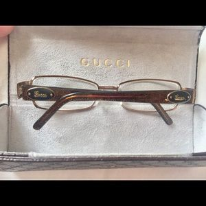 Gucci Eye glasses with case